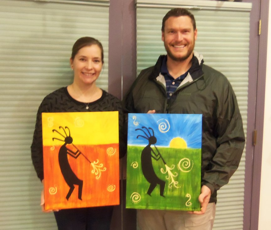 Date Night Paint Along in Sedona