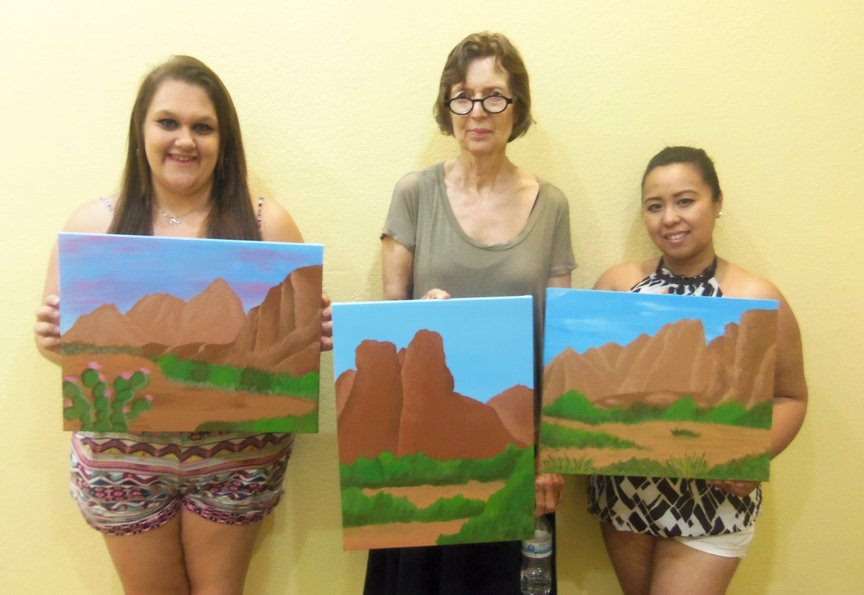 Sedona Vacation Painting