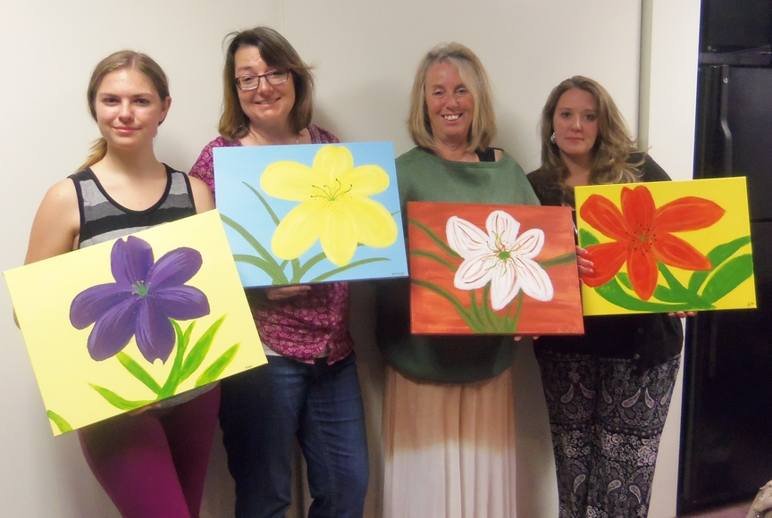 Painting Entertainment for Mothers' Day in Sedona