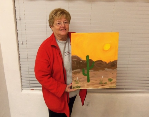 Painting a Sedona Vacation Memory