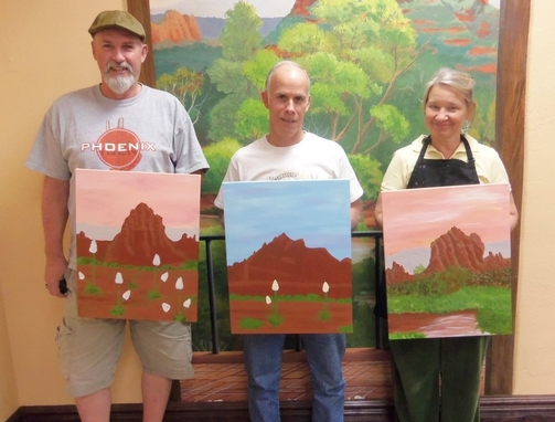 Art for Entertainment in Sedona