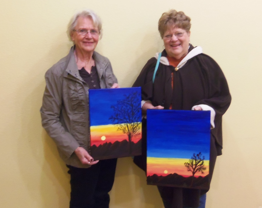 Social Painting in Sedona