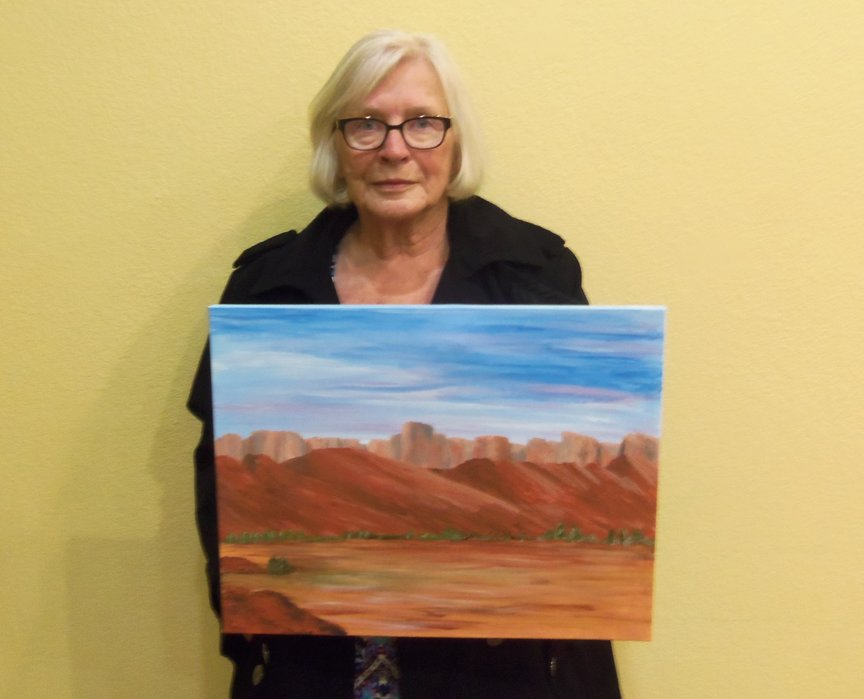 Painting a Sedona Landscape at Paint Along For Fun