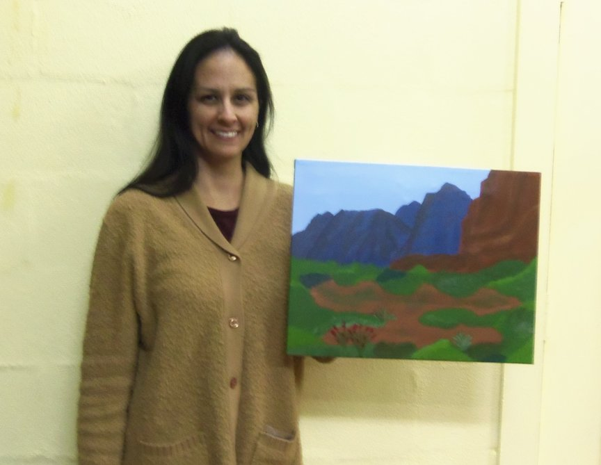 Sedona Memory Paint Along