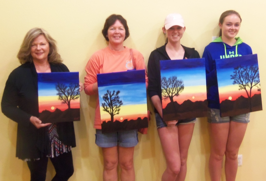 Painting Entertainment in Sedona