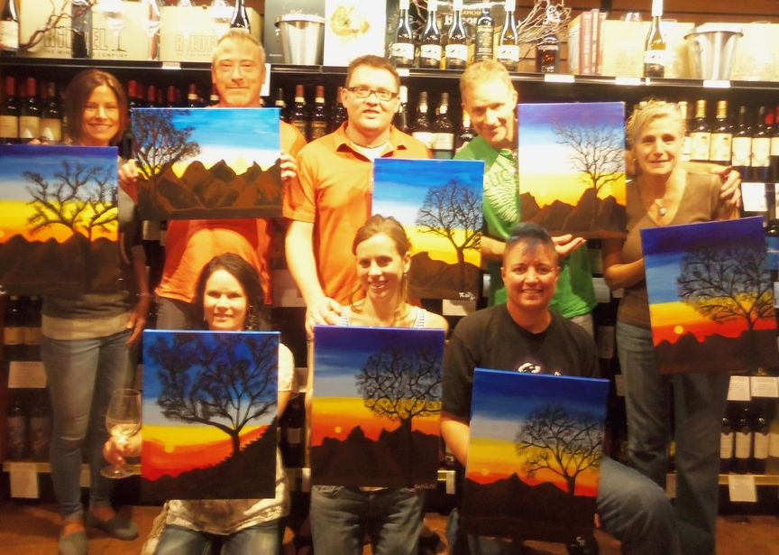 Social Painting at Vino di Sedona