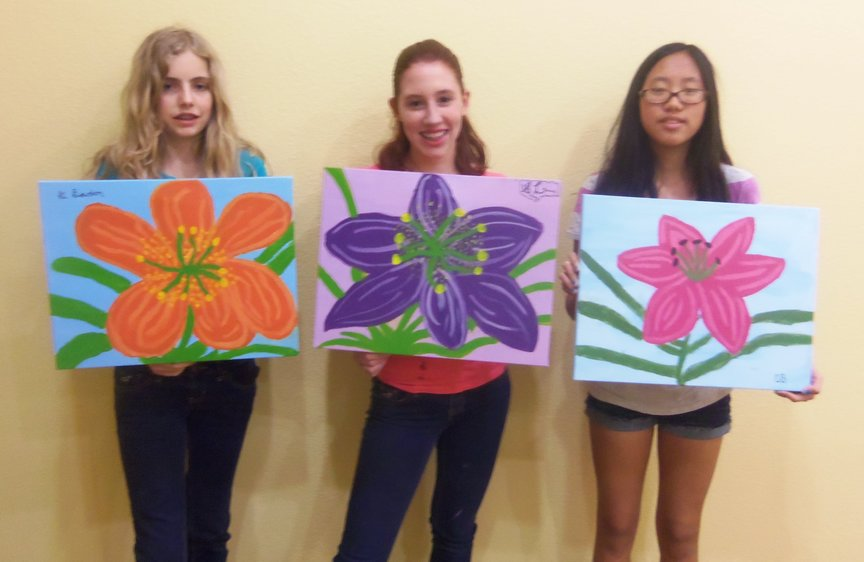 Sedona Spring Break Paint Along Class