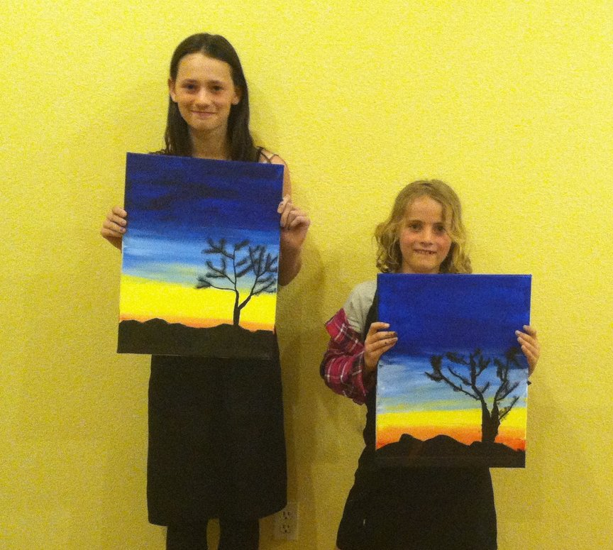 Spring Break Fun with Paint Along For Fun in Sedona