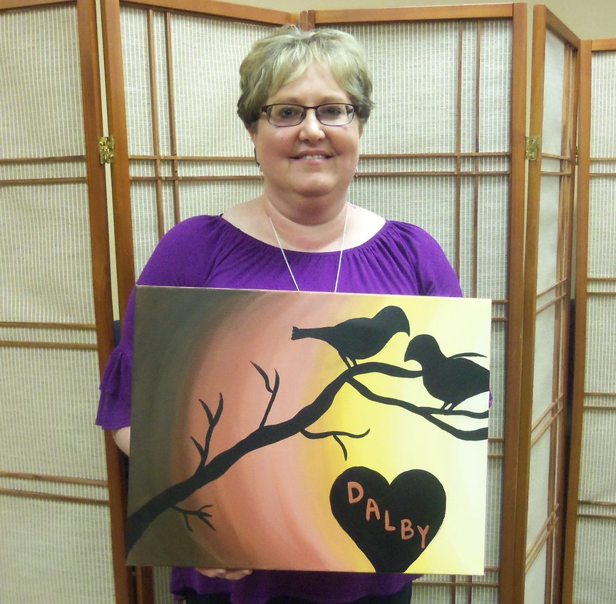 Painting for Entertainment at Paint Along For Fun in Sedona