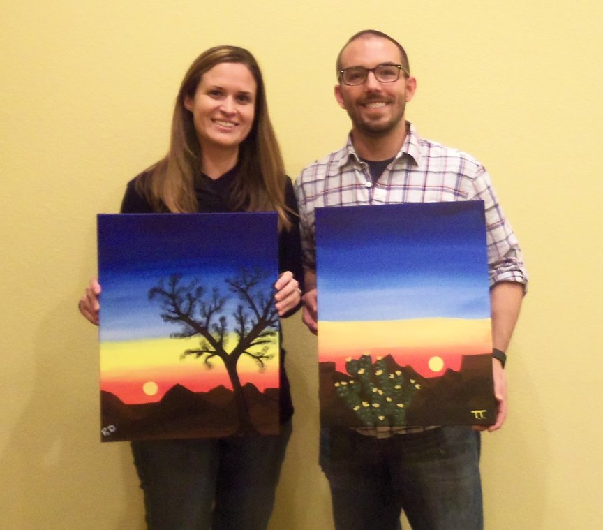 Paint Night in Sedona