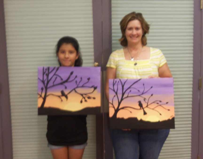 Weekend Entertainment with Paint Along For Fun in Sedona